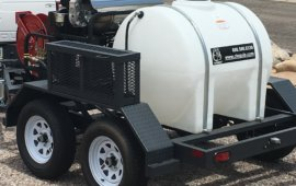 Commercial Water Tank Trailer