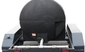 Disaster relief emergency water storage tanks