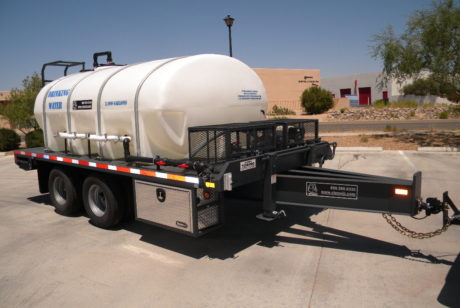 Emergency water storage tanks for drinking water