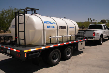 Water Hauling Tanks